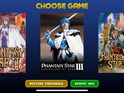 As Expected 'Phantasy Star 3' and 'Phantasy Star 4' Have Been Added to SEGA Forever