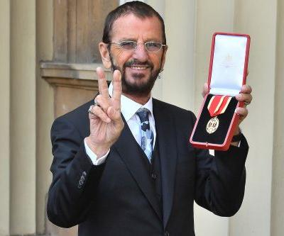 Ringo Starr finally gets knighted