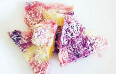 This is how to make unicorn bark