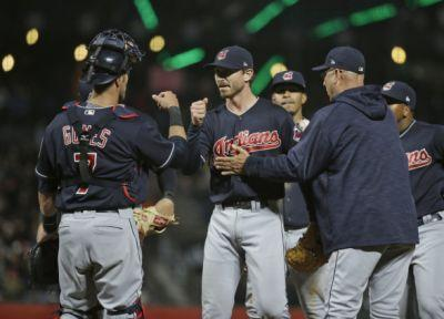 Indians 5, Giants 3: Josh Tomlin delivers strong start, Indians end four-game losing streak