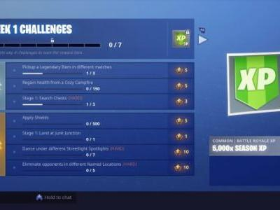 Fortnite Season 6 Week 1 Challenges - How to earn XP and Battle Stars