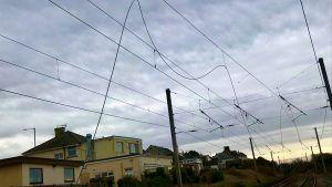 Passengers Warned of Delays After Overhead Lines Damaged on the West Coast Main Line