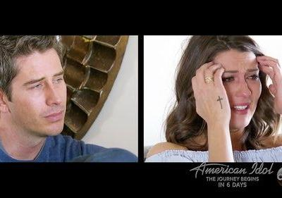 'Bachelorette' Becca Kufrin's Waterproof Makeup On 'The Bachelor' Finale Was No Match For Tears