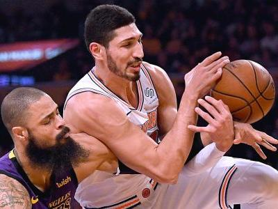 Enes Kanter to skip Knicks' London trip for fear for his safety