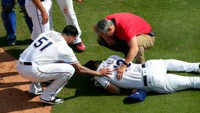 Rangers' Joey Gallo, Matt Bush placed in concussion protocol after collision
