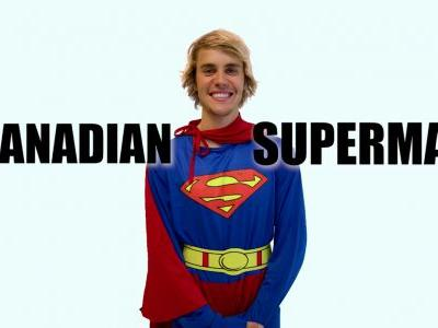 """Here's Justin Bieber In A Supremely Unfunny """"Racist Superman"""" Sk"""