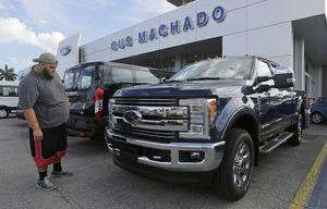 Most automakers report October US sales gains