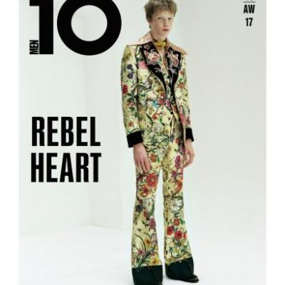 Your First Look At Issue 46 Of 10 Men, Rebel Heart