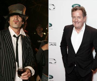 Tommy Lee blames Piers Morgan for his drama with ex-wife