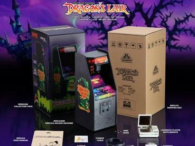 Fully Playable DRAGON'S LAIR 1/6th Scale Arcade Machine Replica