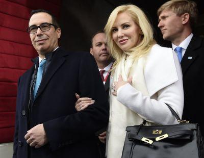 Inside the extravagant wedding of billionaire Treasury Secretary Steve Mnuchin and 36-year-old actress Louise Linton