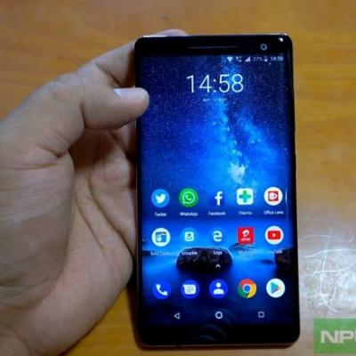 Nokia 8 Sirocco getting November Security update now