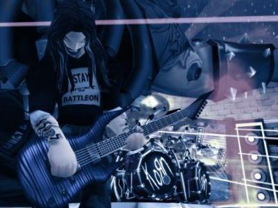 Korn is playing a free in-game concert in AdventureQuest 3D