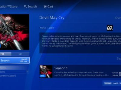 Devil May Cry Anime Currently FREE on the PSN, Here's How to Get it