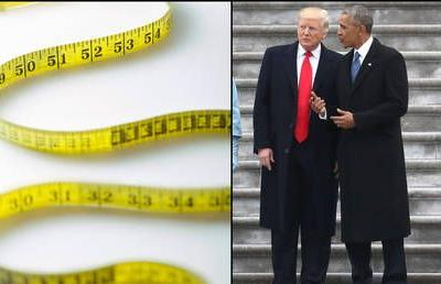 Twitter pokes fun at Trump after 'lying' medical records show he's taller than Obama