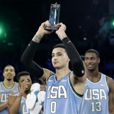 Former Ute Kyle Kuzma wins MVP, US tops World in Rising Stars 161-144