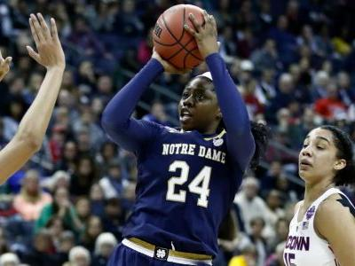 Women's Final Four: Notre Dame ends UConn's perfect season in overtime thriller