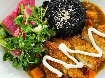 You can now get vegan chicken katsu curry at Mildreds