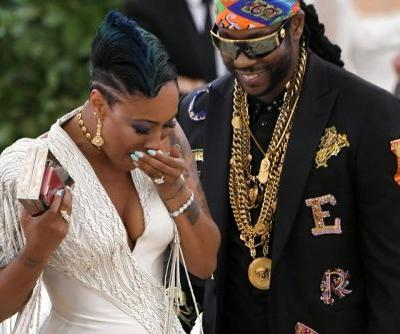 2 Chainz Proposed on the Met Gala Red Carpet