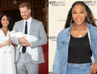 Serena Williams Reportedly Met Baby Archie, Marking A Milestone In Her & Meghan's Friendship