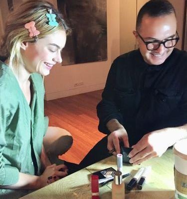 Exclusive: Getting Ready With Camille Rowe for Dior's Guggenheim Pre-Party