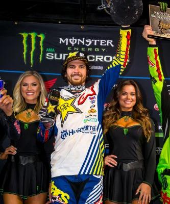 ANDERSON TAKES THE TRIPLE CROWN VICTORY IN ATLANTA!