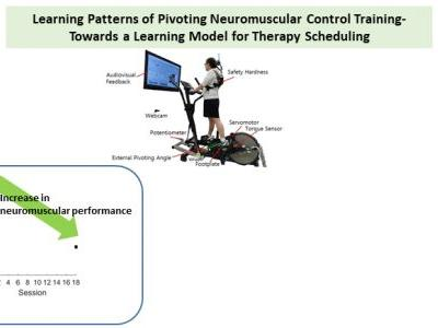 Learning Patterns of Pivoting Neuromuscular Control Training-Towards a Learning Model