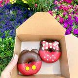 Disneyland's New Mickey and Minnie Cake Doughnuts Look Too Cute to Eat