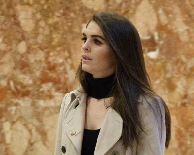 Hope Hicks to become interim White House communications director