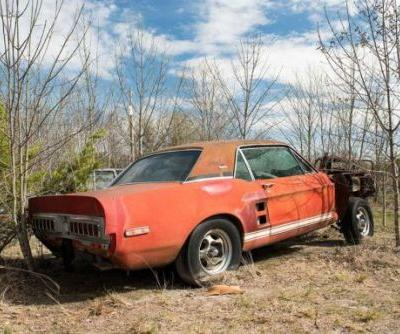 Incredibly rare 1967 Ford Shelby EXP prototype discovered in a field