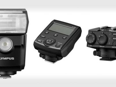 Olympus Unveils New Wireless Flash, Commander, and Receiver