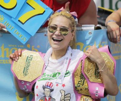 Miki Sudo wins her fifth Nathan's Hot Dog Eating Contest