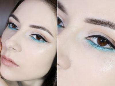 Pop Of Turquoise Summer Makeup Tutorial | Docolor Fantasy Brush Set Test Drive