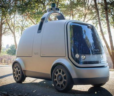 Driverless vehicle startup Nuro begins delivering groceries to Kroger customers in Arizona