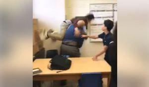 Substitute teacher fired after video shows him body slamming a student