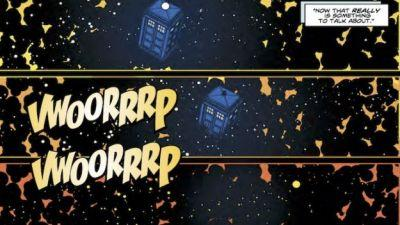 Eleventh Doctor Enters Virtual Reality in Latest Comic