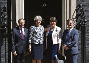 The Latest: N Ireland party leader 'delighted' with UK deal