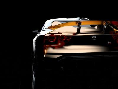 The Nissan GT-R50 By Italdesign Is A Wild, Gold-Trimmed Prototype