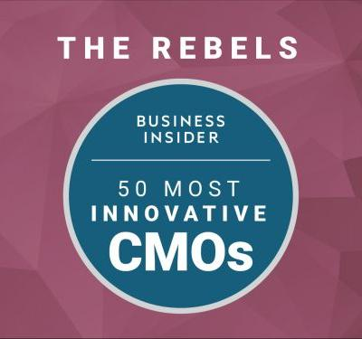 The 50 most innovative CMOs in the world 2017 - The Rebels