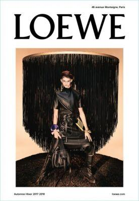 Loewe Goes Bold with Leather for Fall '17 Campaign