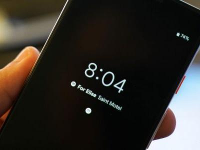 Android Q Beta 1: Always-on Display features currently playing song, moves battery percentage