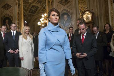 Ralph Lauren stock soars after Melania wears designer's dress to inauguration