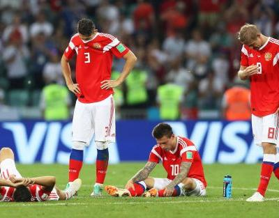 Russia's underdog World Cup run comes to an end with PK loss to Croatia