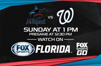 Preview: Marlins wrap series vs. Nationals in final home game of 2019