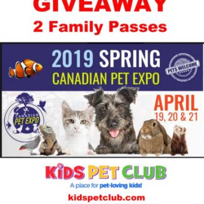Spring Canadian Pet Expo Giveaway-WIN 2 Family Passes