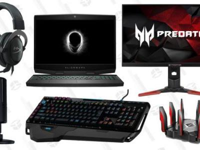 Build, Upgrade, or Augment Your Gaming PC With Today's Amazon Gold Box
