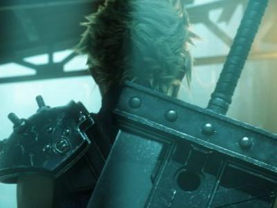 A New Image Of Final Fantasy VII Remake Shown In Background Of Another Photo