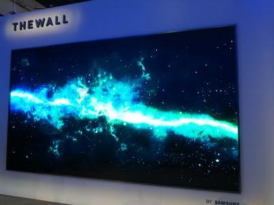 Samsung's 'The Wall' TV is coming to a living room near you