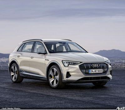 Electrifyingly fun to drive: the Audi e-tron