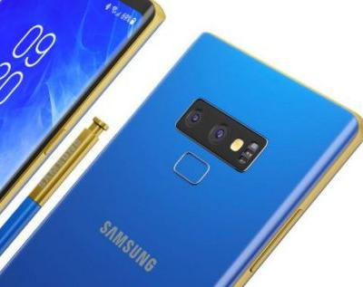 Galaxy Note 9 details leak: Black and Blue!